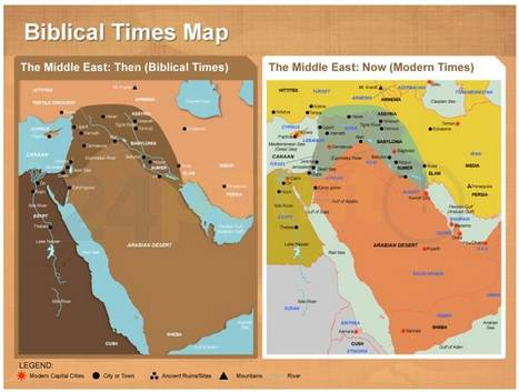 Bible Map\' in PowerPoint - Maps, Templates, Diagrams ...