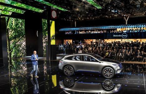 Mercedes EQ, la marque électrique de Mercedes | Voitures anciennes - Classic cars - Concept cars | Scoop.it