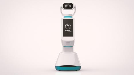 Le robot lyonnais HEASE, présenté au CES de Las Vegas, va se déployer dans plusieurs villes courant 2017 | Le journal de l'éco | Une nouvelle civilisation de Robots | Scoop.it