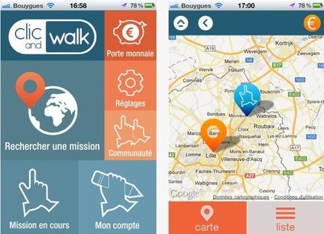 Devenez consom'acteur rémunéré avec Clic and Walk ! | Time to Learn | Scoop.it