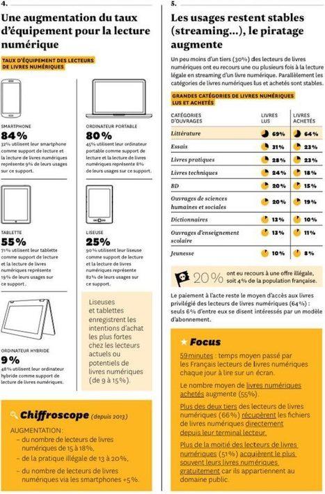 Les lecteurs et le livre numérique en France : les usages progressent | Veille Hadopi | Scoop.it