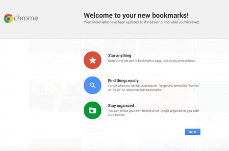 Google's New Bookmarking Service, Previously Called Stars, Has Gone Live | TechCrunch | Digital Curation for Teachers | Scoop.it