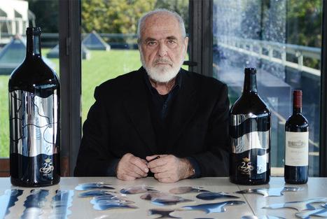 Unique artwork of limited-edition labels for wine bottles designed by Michelangelo Pistoletto | Art contemporain et culture | Scoop.it