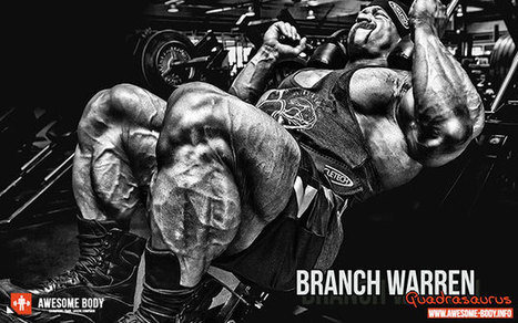 Branch Warren Poster | Quads Motivation Wallpaper | Quadrasaurus |  Bodybuilding Tips   Health U0026 Nutrition