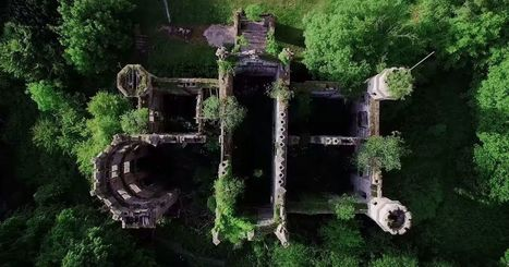 Man creates 3D map of abandoned Scottish mansion using drone | ICT en Onderwijs | Scoop.it