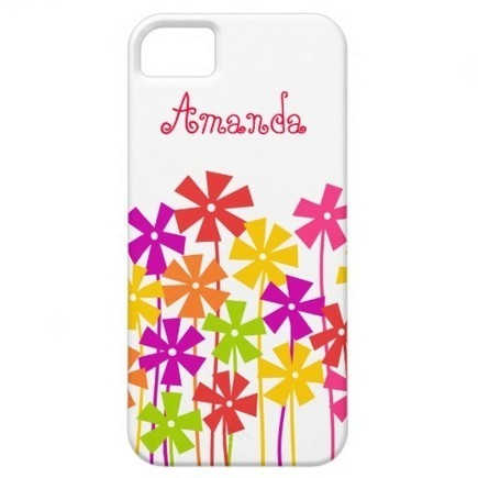 Flower garden iPhone 5 Case iPhone 5 Cover from Zazzle.com | Cute floral iPhone Cases | Scoop.it