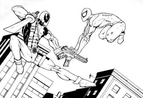 Deadpool Coloring Pages\' in Wallpaper & Coloring Pages ...