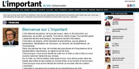 """[Veille] L'Important, nouveau site de veille média """"100% Twitter""""   Communication - Marketing - Web_Mode Pause   Scoop.it"""