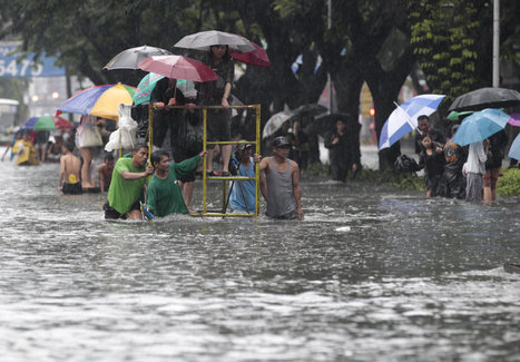 Floods cover more than half of Philippine capital | Geography 200 | Scoop.it
