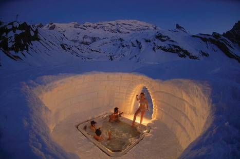 Outdoor Jacuzzi on the Matterhorn....... | BEATIFUL | Scoop.it