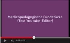 » MashUps von offen lizenzierten Youtube-Videos mit dem Youtube-Editor – Medienpädagogik Praxis-Blog   Technology Enhanced Learning in Teacher Education   Scoop.it