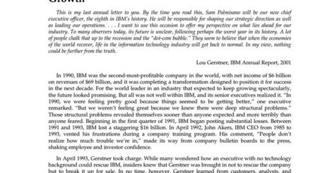 Making change work _ IBM pdf | I think, therefo