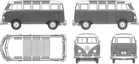Volkswagen Type 2 Mini Bus ~ Grease n Gasoline | What about? What's up? Qué pasa? | Scoop.it