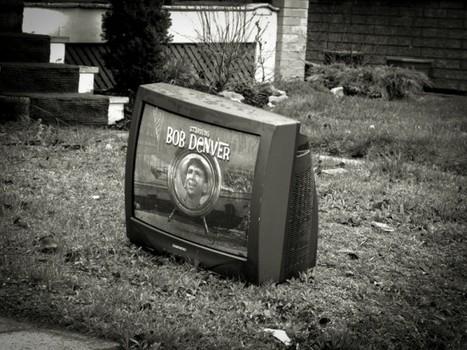 "Abandoned Televisions | Fubiz™ | ""Chicago, Gotham City?"" | Scoop.it"