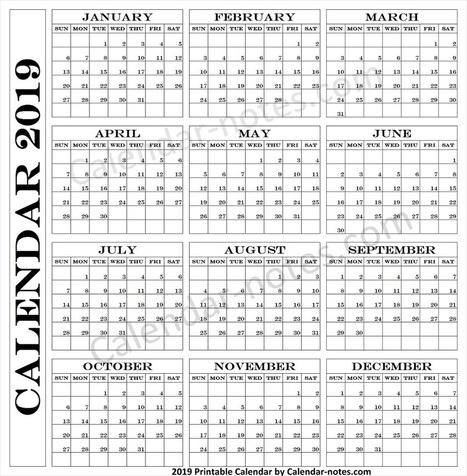Blank Calendar 2019 Download In Savecalendar Scoop It