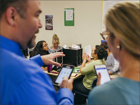 Long Beach District Sets Course to Personalize Teacher PD - Education Week | Transformational Teaching and Technology | Scoop.it