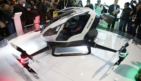 Fly to Work in The World's First Autonomous, Human-Siz | Ideas, Innovation & Start-ups | Scoop.it