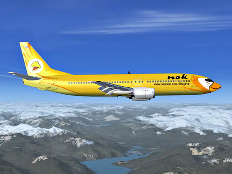 Nok Air se lance à l'international en 2013 | AFFRETEMENT AERIEN KEVELAIR | Scoop.it
