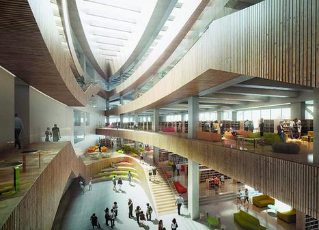 Engineering ingenuity underlies new Calgary Central Library | innovative libraries | Scoop.it
