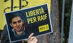 Jailed Saudi blogger Raif Badawi on hunger strike | World news | The Guardian | Unthinking respect for authority is the greatest enemy of truth. | Scoop.it
