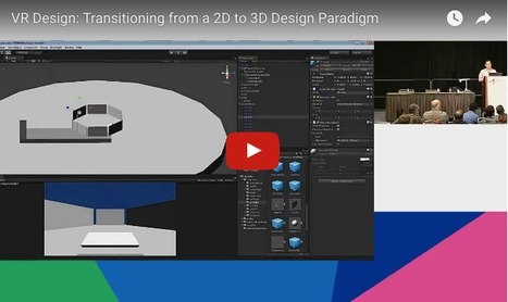 [Presentation] VR Design: Transitioning from a 2D to a 3D Design Paradigm - Alex Chu Design Portfolio | COMPUTATIONAL THINKING and CYBERLEARNING | Scoop.it