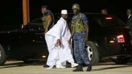 Ex-President Yahya Jammeh leaves The Gambia after losing election - BBC News | UgandaNuz | Scoop.it