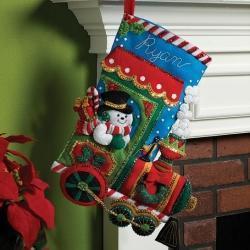 Felt Stocking Kits | Crafts & DIY | Scoop.it