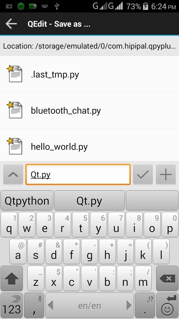 Voice counter :Sl4a tutorial on Qpython   Micro