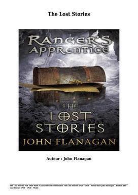 rangers apprentice lost stories epub