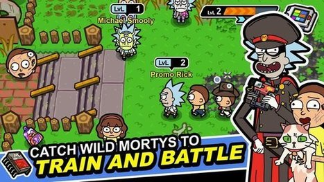 Pocket Mortys v2 2 9 APK Download | Latest Andr