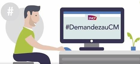 Médias sociaux: la SNCF veut faire positiver son expérience | CommunityManagementActus | Scoop.it