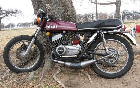 1974 RD350 Build #2 | Motorcycles & Cafe Ra