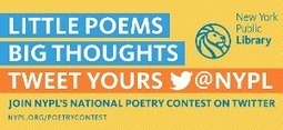 NYPL Launches National Poetry Contest on Twitter from March 1 to 10 | LibraryLinks LiensBiblio | Scoop.it