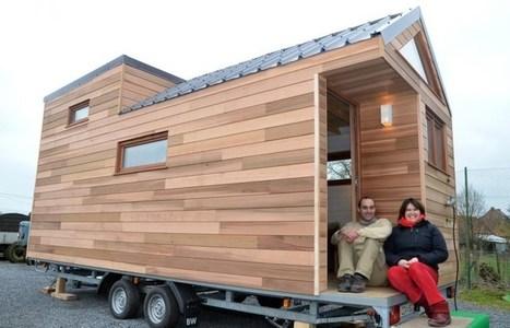 maison bois sur roue