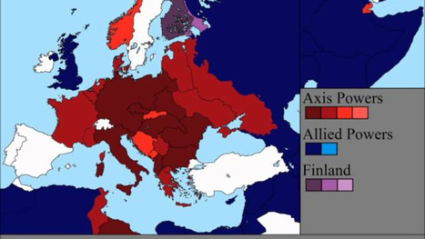Watch the Second World War unfold over Europe in 7 minutes | April Utah Geographic Alliance Newsletter | Scoop.it