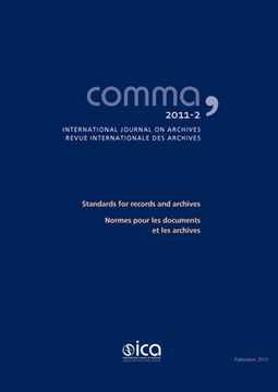 Comma – The latest issue of Comma on Standards for records and archives is now available | archieven | Scoop.it