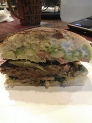 Amy's All American Burger on a Torta - Best Garden Burger | Becoming Vegan Recipes and Advice | Scoop.it