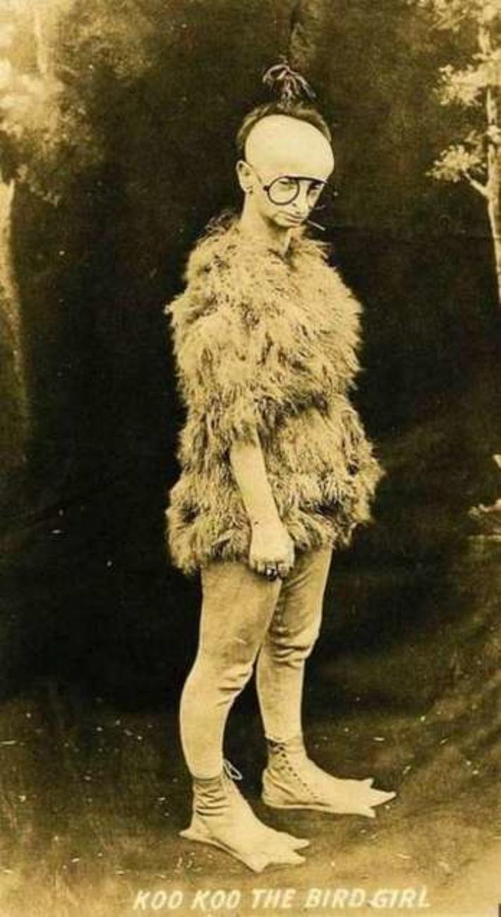 Koo Koo The Bird Girl | Antiques & Vintage Collectibles | Scoop.it