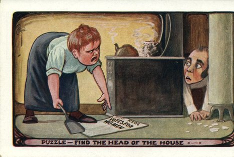 These Anti-Suffragette Postcards Warned Against Giving Women the Vote | We Teach Social Studies | Scoop.it