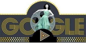 Actu : Doodle du jour - Hedy Lamarr (Google) | Méli-mélo de Melodie68 | Scoop.it