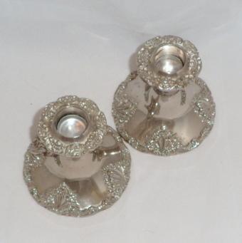 Vintage Godinger Candle Holders Silver Plated Ornate $35.00 | Vintage Passion | Scoop.it