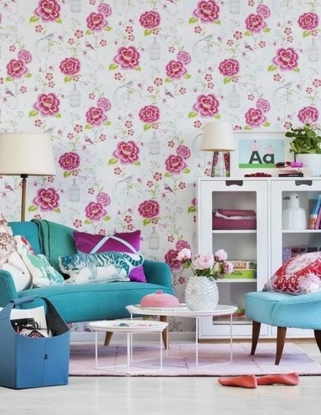 "Inspiring Vivacious Living Room Interior Design | Alexanian Carpet & Flooring - ""The World at Your Feet"" www.alexanian.com | Scoop.it"