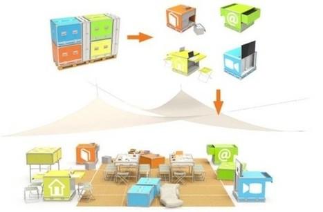 Ideas Box, la biblioteca móvil para emergencias humanitarias | DOCUARCH | Scoop.it