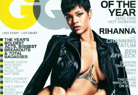 Rihanna On GQ | Sexy news | Scoop.it
