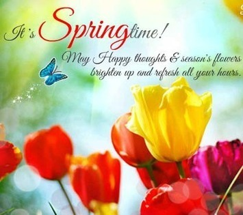 100 happy spring day sms messages images qu - Happy spring day image quotes ...