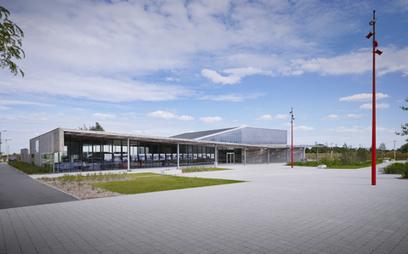 Livraison de la médiathèque et de l'auditorium HQE de Méricourt par Atelier 9.81 architecte urbaniste | Monde des bibliothèques | Scoop.it