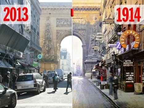 Paris 1900-2013en photos: pilotez notre fabuleuse machine à remonter le temps - Rue89 | Théo, Zoé, Léo et les autres... | Scoop.it
