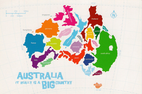 17 Maps Of Australia That Will Make Your Mind Boggle | Handy Online Tools for Schools | Scoop.it