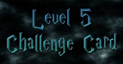 Genius Hour Challenge Cards for Levels 3-5 | Differentiation | Scoop.it