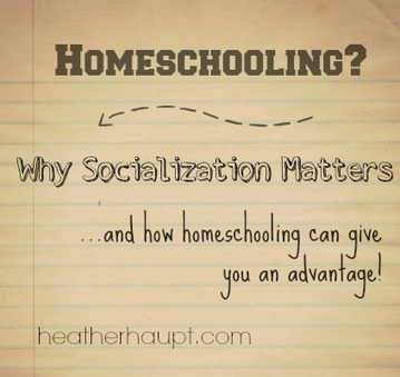 Homeschooling: Why Socialization Matters | Distance Education and Home Schooling | Scoop.it